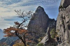Huangshan, Żółte góry w prowincja anhui w Chiny, fotografia royalty free