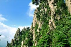 Huangshan, απίστευτη Κίνα Στοκ Φωτογραφίες
