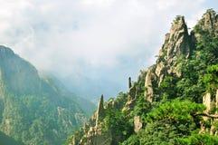 Huangshan, неимоверный фарфор Стоковые Изображения