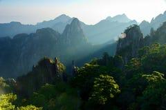 huangshan Royaltyfri Fotografi