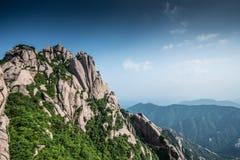 Huangshan Arkivfoto