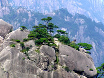 Huangshan Anhui Chine Photo libre de droits