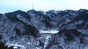 Huangshan berg Fotografering för Bildbyråer