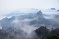 Huangshan berg Arkivbilder