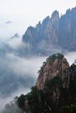 Huangshan berg Arkivfoto