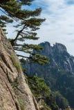 Huangshan berg Royaltyfri Bild