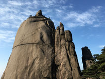 huangshan berg Arkivfoton
