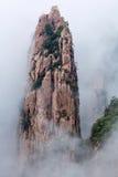 Huangshan berg (det gula berget), Anhui, Kina Arkivfoto