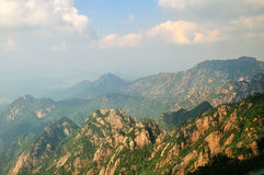 Huangshan Cable tower, incredible china Royalty Free Stock Photo