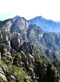 Huangshan China. This is China huangshan scenic spot Stock Photo