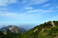 Huangshan China. This is China huangshan scenic spot Stock Images