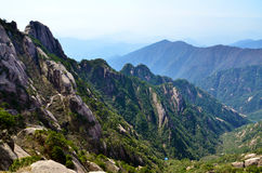 Huangshan China. This is China huangshan scenic spot Steps ladder Stock Image