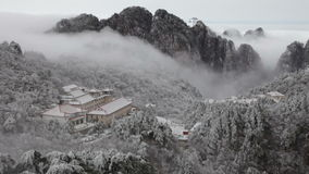 Huangshan, China stock footage