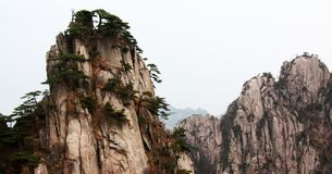 Huangshan Chinees royalty-vrije stock foto's