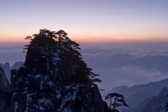 huangshan góra Fotografia Royalty Free