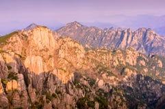 Huangshan góry Obrazy Royalty Free