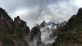 Huangshan góry porcelanowe obrazy royalty free