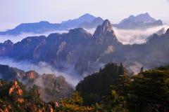 Huangshan (gult) berg Fotografering för Bildbyråer