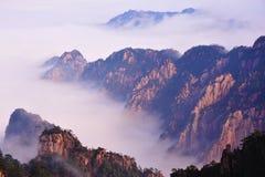 Huangshan (gult) berg Royaltyfri Fotografi
