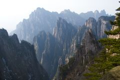 Huangshan II Royalty Free Stock Photography