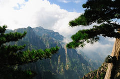 Huangshan, incredible china Stock Photography