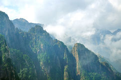 Huangshan Yellow Mountains in China Stock Image