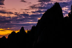 Huangshan mountain in Anhui, China.  Stock Images