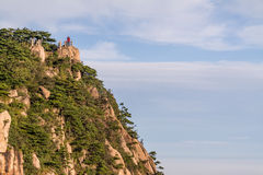 Huangshan mountain in Anhui, China.  Stock Photos