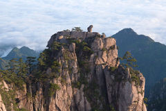 Huangshan mountain in Anhui Province of China Royalty Free Stock Photography