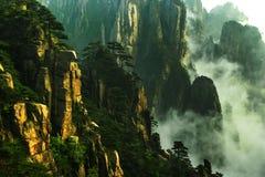 Huangshan mountain in China Royalty Free Stock Image