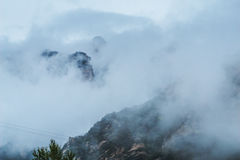 Huangshan mountain in China stock photography