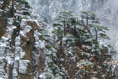 Huangshan mountain in China Royalty Free Stock Photos