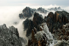 Huangshan Mountain Royalty Free Stock Photos
