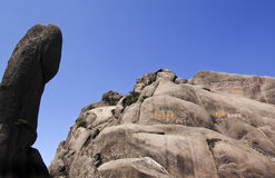 Huangshan mountain scenery Stock Photography