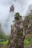 Huangshan Mountain (Yellow Mountain), Anhui, China. Stock Photo