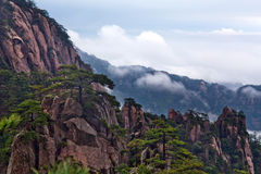 Huangshan Mountain (Yellow Mountain) in Anhui Province, China Royalty Free Stock Photography