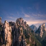 Huangshan Mountain, Yellow Mountain, China Royalty Free Stock Photography