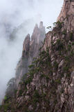 Huangshan Mountain (Yellow Mountain), China. Royalty Free Stock Image