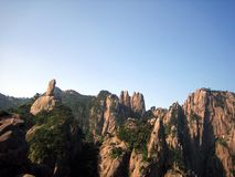 Huangshan mountains Stock Images