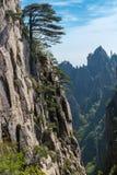 Huangshan mountains Stock Image
