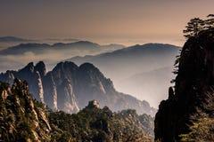 Huangshan. Mt. Huangshan in Anhui, China Stock Photo