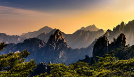 Huangshan. Mt. Huangshan in Anhui, China Stock Image