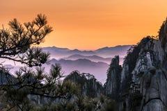 Huangshan. Mt. Huangshan in Anhui, China Royalty Free Stock Photos