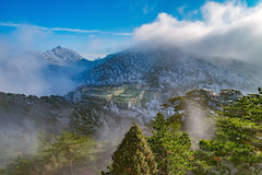Huangshan National park. Royalty Free Stock Image