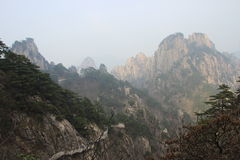 Huangshan. The north sea of huangshan Royalty Free Stock Photos