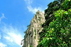 Huangshan oerhört porslin royaltyfri bild