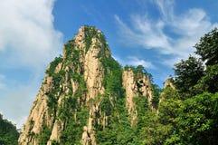Huangshan oerhört porslin royaltyfri fotografi