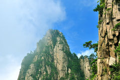 Huangshan oerhört porslin royaltyfria foton