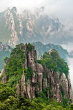 Huangshan peak Royalty Free Stock Image