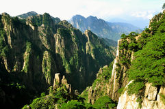 Huangshan, porcelaine incroyable Images stock